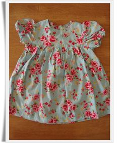 Vintage Rose Summer Bo-Peep  Dress, 6-12 months £24.00