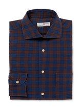 Luciano Babera Checkered Dress Shirt