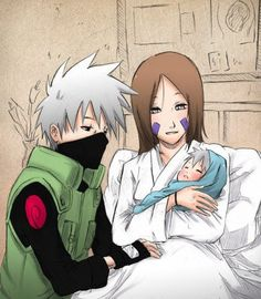 kakashi and rin | Naruto & Hinata , Rin x Kakashi - mwa-ma-vie-et-surtout-vive-les ...