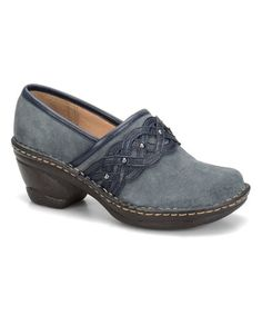 Another great find on #zulily! Denim Lennox Suede Clog by Softspots #zulilyfinds
