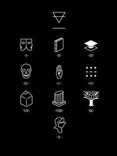 logo / emblems on Behance Form Design, Icon Design, Ipad, Book Logo, The Secret Book, Brand Identity Design, Back Tattoo, Logos, The Magicians