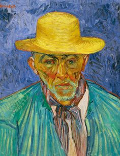 Vincent van Gogh (1853–1890), Portrait of a Peasant (Patience Escalier), Arles, August 1888, oil on canvas, 25 3/8 x 21 ½ inches, Norton Simon Art Foundation.