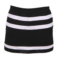 Horizontal Inset Tennis Skirt with Shorts