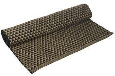 Design Vintage | Large Rug | Jute Rug | Black Rug | Patterned Rug