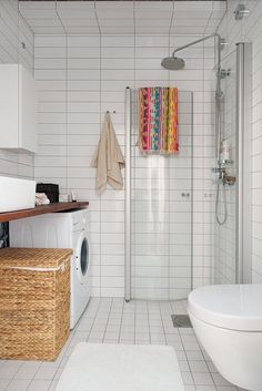 42 Awesome Scandinavian Bathroom Design Ideas - Planning and creativity is the key ingredient to give your bathroom a lavish, yet classic look. There are countless bathroom ideas to create a masterp. Attic Bathroom, Tiny House Bathroom, Bathroom Design Small, Bathroom Layout, Bathroom Interior Design, Home Interior, Bathroom Storage, Bathroom Showers, Bathroom Sinks