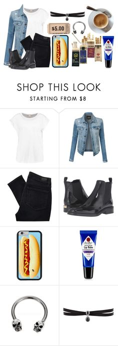 """Will You Pour Me One For The Road?"" by sydxviciousx ❤ liked on Polyvore featuring LE3NO, Paige Denim, Burberry, Jack Black and Fallon"