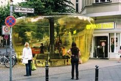 Plastique Fantastique is a Berlin based creative group that experiment with temporary architecture and play with private and public spaces i...
