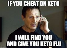 Did you have side effects after cheat day? #keto tips & recipes: http://www.ketogeniclab.com #ketogenic #lchf #ketosis #lowcarb #ketogenicdiet