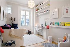 ways to show off your wall art than simply hanging a picture on a blank wall. Personalise plain walls with these fun and fabulous ideas for children's rooms.
