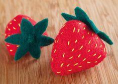 Handmade Felt Fruit Tutorial