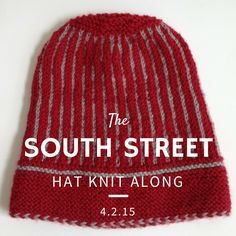 South Street Hat Knit Along