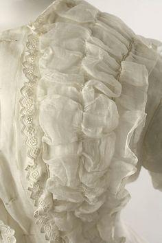 Dressing jacket Date: 1870s Culture: American or European Medium: cotton