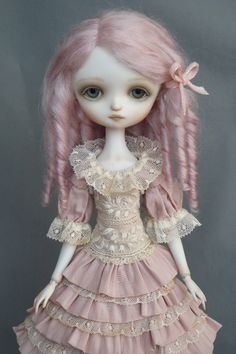 Julie : Porcelain Ball Jointed Doll || Dragonfly Works