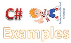 http://mrdotnet.com/c-sharp-examples/ C# Examples and Programs With Output all kinds of basic C# Examples C# Tutorials