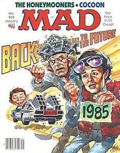 Back To The Future. MAD magazine