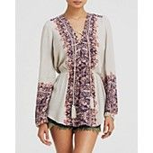 Free People Tunic - Wildest Moments Printed