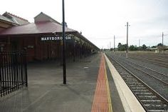 Maryborough Station - Google Maps Back In Time, Railroad Tracks, Trains, Maps, Restoration, Deck, Places, Google, Outdoor Decor
