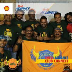 Shell Advance club connect powered by TORQ is experiencing biking passion and a warm welcome from Royal Bulleteer Pune - RBP..! #TheWinningIngredient #TORQ #TorqRiderApp