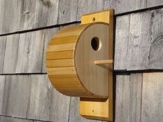 Custom Made Cedar Strip Bird House