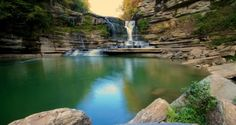 14 Waterfalls In Tennessee That Will Leave You Breathless | 14) Jackson County, Tennessee is home to Cummins Falls. This waterfall boasts a title as the eighth largest waterfall in Tennessee and is a popular swimming hole in the summer. Murfreesboro, TN |