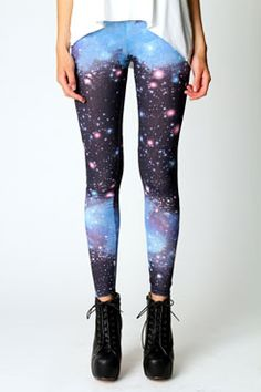 I've been coveting galaxy print leggings forever