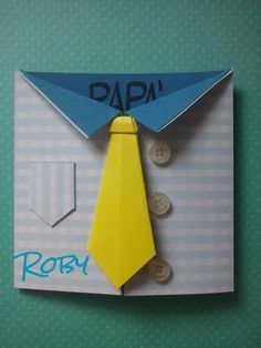 Card per la festa del papa`- esterno