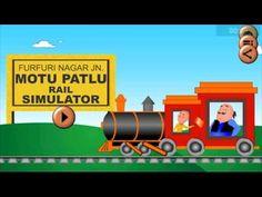 Motu Patlu Rail Simulator Gameplay on Android