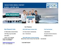 Epic research weekly forex report of 28 nov 2016