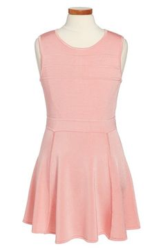 Milly Minis Sleeveless Skater Dress (Big Girls) available at #Nordstrom