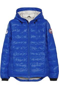 canada goose blue bubble jacket