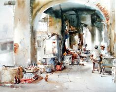 Chan Chang How, Singapore #watercolor