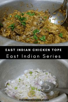 It was my turn to help mom in the kitchen yesterday, and we were making Chicken Tope again after a long time. So here's the recipe with pics. Rice Recipes, Indian Food Recipes, Asian Recipes, Chicken Recipes, Red Curry Chicken, Indian Chicken, Cooking Courses, World Recipes, Biryani