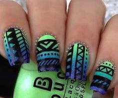 Tribal look...bright  nice