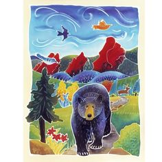 Bear In The Trail by Harriet Peck Taylor