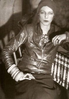 Rebel, activist and style icon Nancy Cunard; unique and instantly recognizable, arms invariably heavy with bracelets.