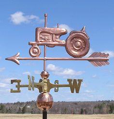 farm tractor weather vane
