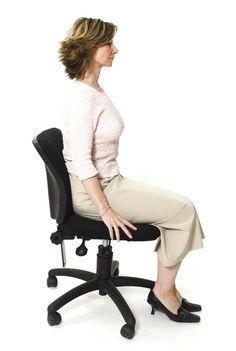 sitting posture, standing posture, good posture, posture help, posture hacks