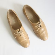 6600c6dad66 Sz 8 Mens Sz 10 Womens Vintage Bally Leather Lace by nstylevintage