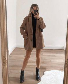 Winter Fashion Outfits, Fall Winter Outfits, Look Fashion, Womens Fashion, Female Fashion, Cute Casual Outfits, Chic Outfits, Sixth Form Outfits, Outfit Stile