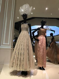 The Christian Dior: Designer of Dreams exhibition at the V&A Museum, London - @itscaitlinrose
