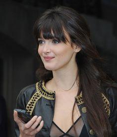 Charlotte Le Bon @ Chanel show Paris July 2010 via GLAMOUR