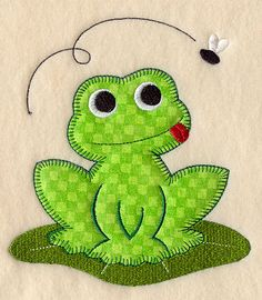 Frog (Heirloom Applique)