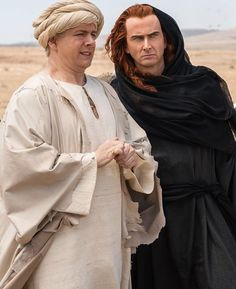 David Tennant and Michael Sheen Good Omens Michael Sheen, David Tennant, Neil Gaiman, Good Omens Book, Rory Williams, Terry Pratchett, Donna Noble, Sherlock, Behind The Scenes