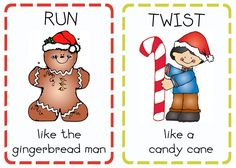 Book Advent: Day 20 {Christmas Action Cards} | Oopsey Daisy  free holiday action cards for kids