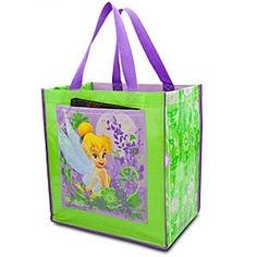 Disney Tinker Bell Tote | Disney StoreTinker Bell Tote - She will pack plenty of pixie-dust along with happy thoughts in our reusable Tinker Bell Tote. Our saucy sprite's sturdy shopping bag is made of 80% recycled materials to help keep every Never Land green.#DisneyWishList