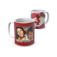 Uma caneca romântica para partilhar bons momentos! A romantic mug to share good times!