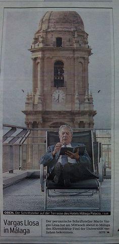 #VargasLlosa en #Málaga. En: #SurDeutsche, 2007 #Cultura
