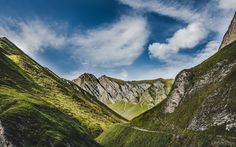 Summer in the alps - A beautiful summer day in the tyrolean alps.  If u like my…