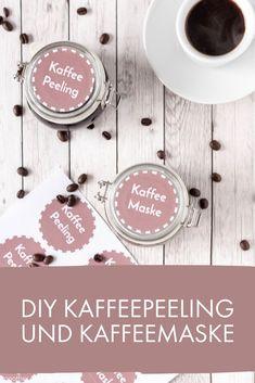 DIY Kaffeepeeling und Keffeemaske - schnell und einfach selbstgemacht
