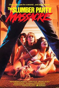 A good stereotypical '80s slasher movie.